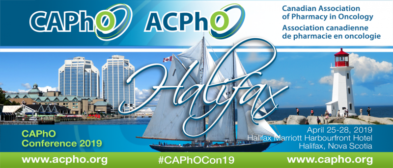 CAPhO 2019 Conference (Halifax, Nova Scotia) | Oncology